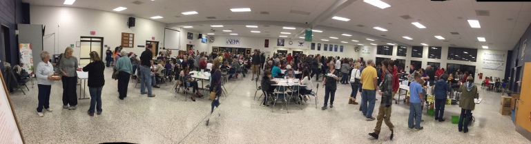 What an amazing turnout for this year's BSRT Pancake Supper!